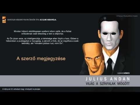 Julius Andan - Világ a színfalak mögött - 1. - A szerző megjegyzése