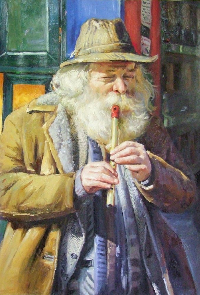 The Tin Whistle 2 by Conor Mcguire on ArtClick.ie Irish Music Art