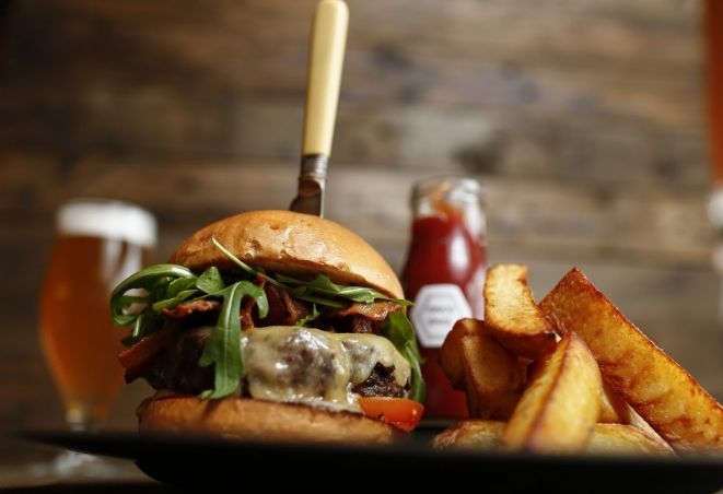 Our No.37 Gourmet Beef burger is a true favourite! Try it for yourself at 37 Dawson Street.  #gfp #gourmetfood #gourmetfoodparlour #37dawsonstreet #burger #gourmetburger #irishbeef #foodporn #lunchtime #dublin #dublinfood #lunchindublin