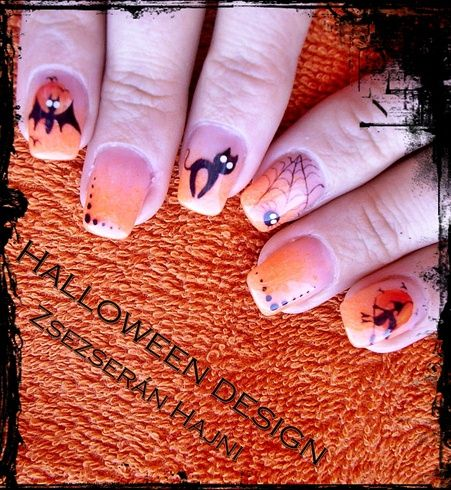 HALLOWEEN DESIGN – Nail Art Gallery von NAILS Magazine   – Halloween Nail Art