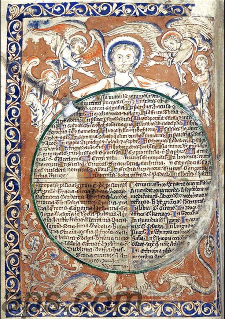 Psalter Map ca 1300