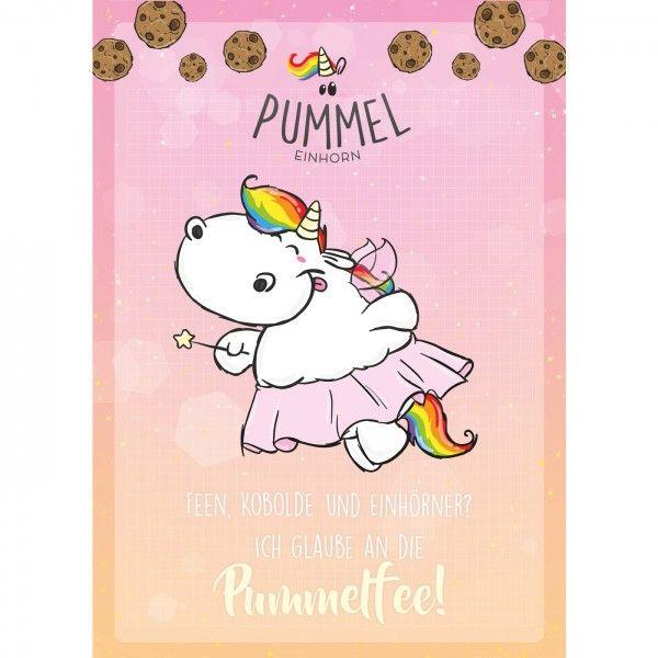 """Pummeleinhorn - Sammelblock, DIN A5, Nr. 1 """"Pummelfee"""""""