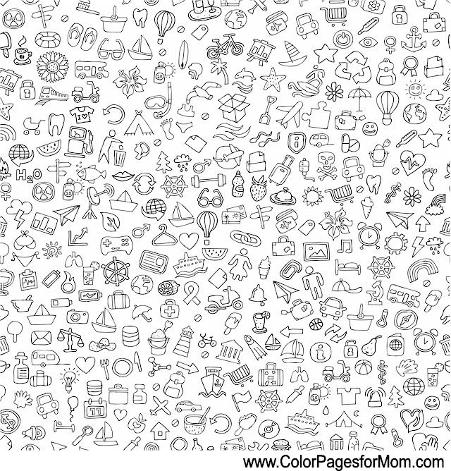 vacation coloring page 16