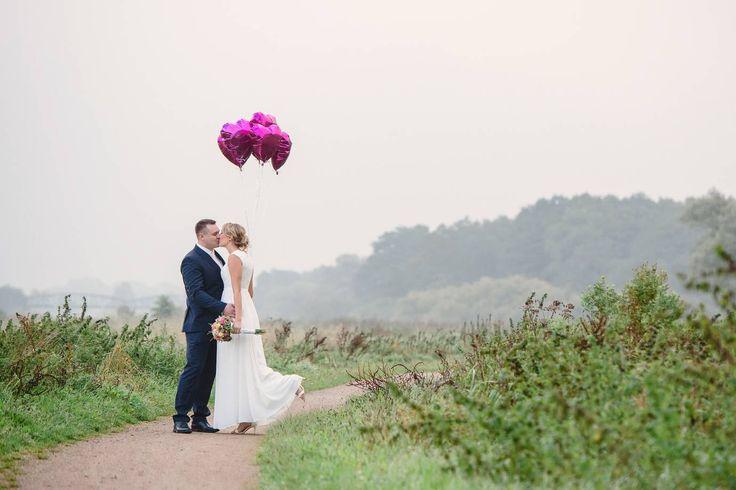 Bilder der wunderbaren ♥ Hochzeit von Corinna und Jan im September 2015 im Standesamt im Rathaus und bei Melchers Hütte in Osterholz-Scharmbeck.