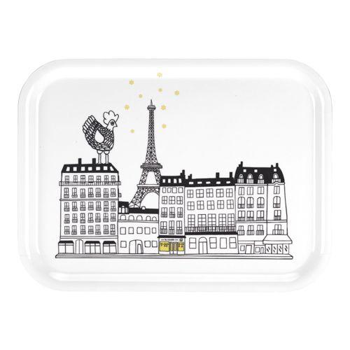 Très joli #plateau à #thé de La Cocotte sur les toits de #Paris #TourEiffel #pause