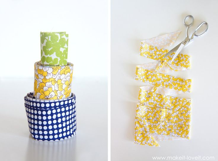 How to make one CONTINUOUS strip of BIAS TAPE (from one square of fabric) | via Make It and Love It