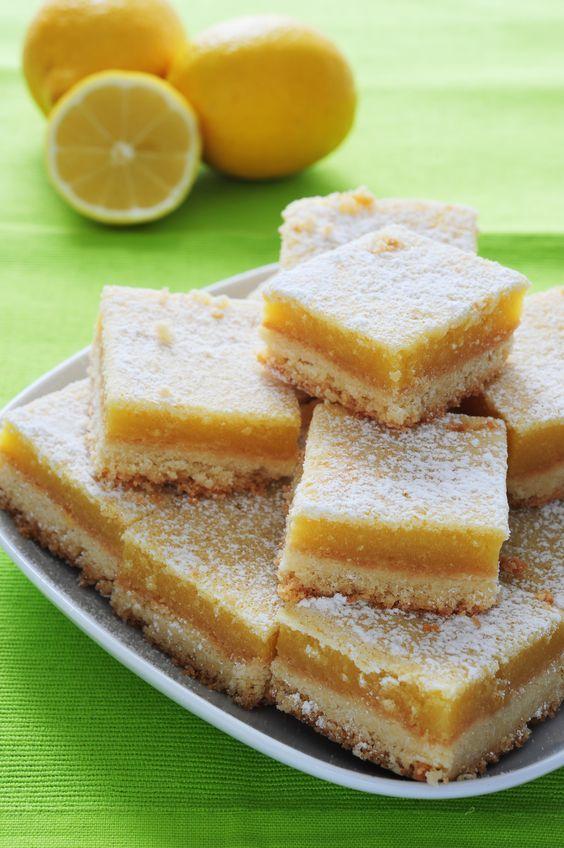 Easy Lemon Bars | Skinny Mom | Tips for Moms | Fitness | Food | Fashion | Family