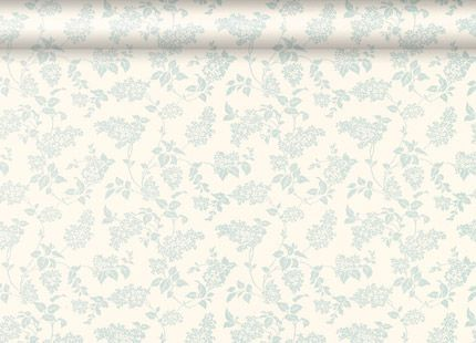 Lilac Floral Duck Egg Wallpaper, Laura Ashley