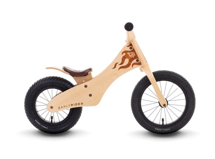 Our flagship wooden bike. With it's slackened head tube, wide rear tyre, longer wheel base and low centre of gravity, the Classic makes for an incredibly stable