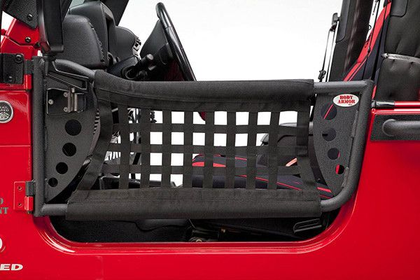 1997-2006 Jeep Wrangler Body Armor Gen III Trail Front Doors Pair
