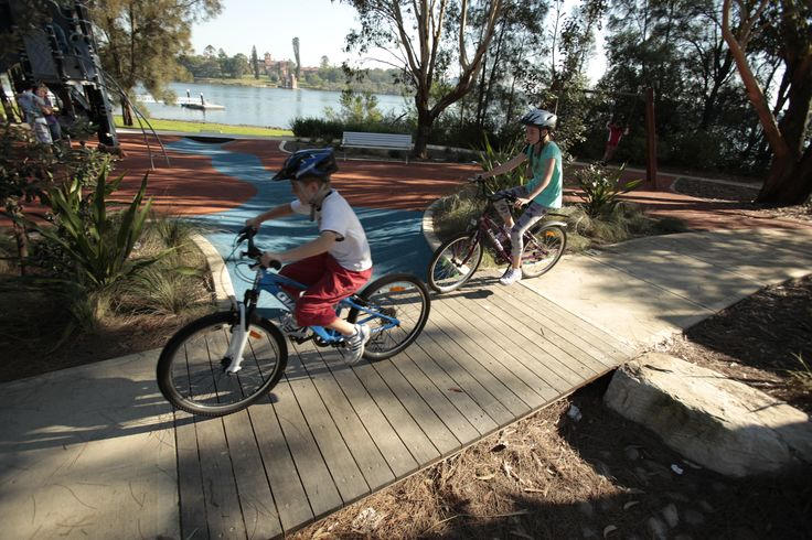 Kissing Point Park & Kids Playground - Waterview Street, Putney, NSW #Ryde #Putney #Park #Playground #Kids #CityofRyde #RydeLocal #Children