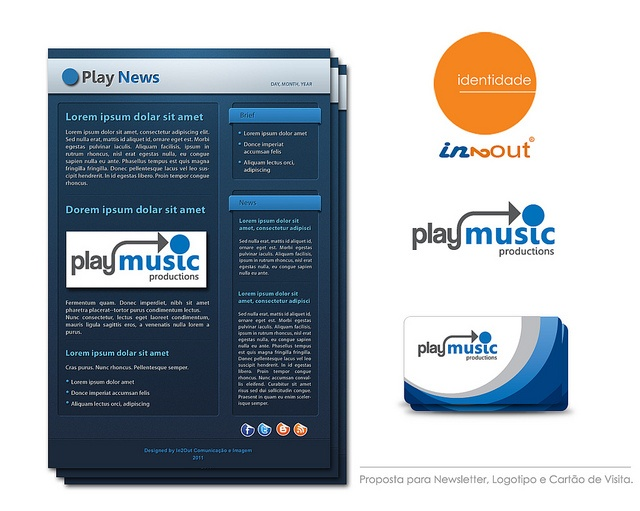 Playmusic  Graphic Design 2011