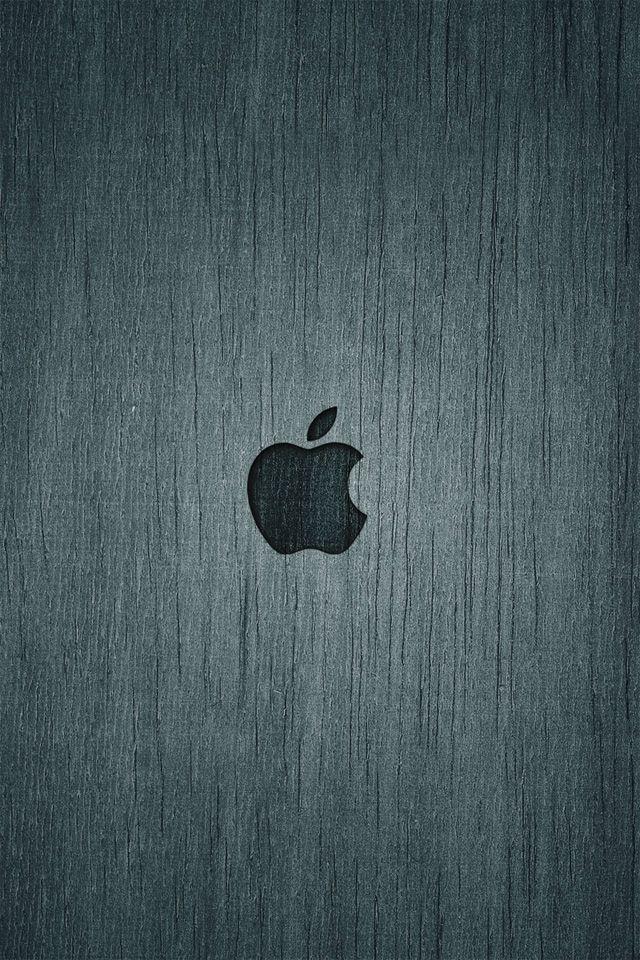 Apple Wood iPhone Wallpaper