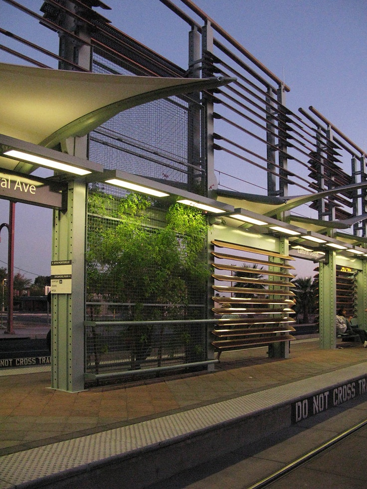 Light rail stations, Phoenix, AZ