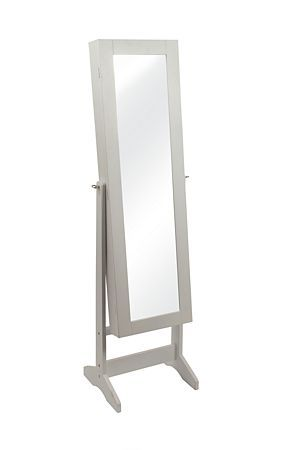 """This decorative standing mirror has a dual function as it serves as a cupboard that can be used to house jewelery Measures 36x151cm.<div class=""""pdpDescContent""""><BR /><b class=""""pdpDesc"""">Dimensions:</b><BR />L146xW41xH37 cm</div>"""