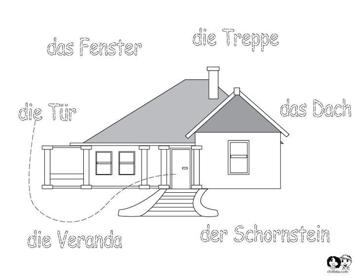 children's worksheets for German