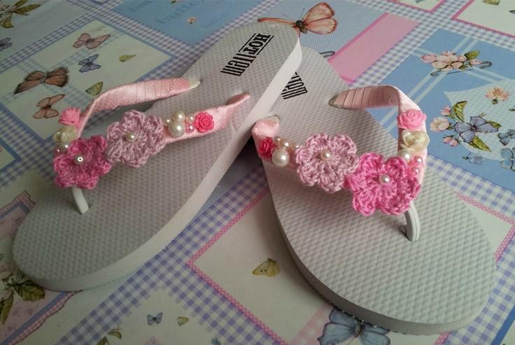 Designed Flip Flops - gepimpte slippers