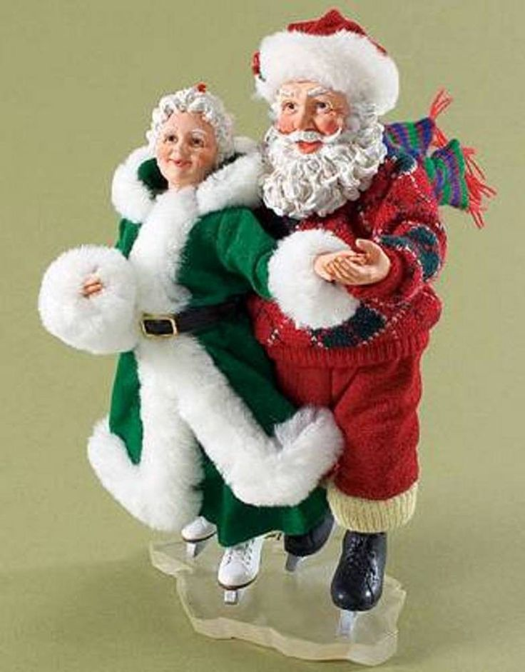mrs claus figurines - Google Search