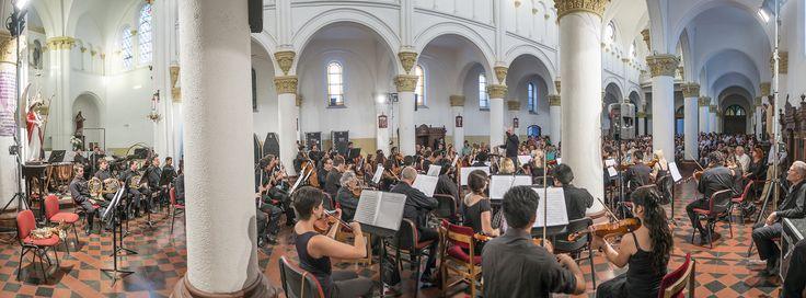 Concierto Ciudadano - Parroquia San Rafael Arcángel. Foto: Patricio Melo