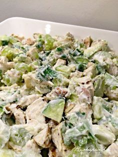 Ruokapankki: Vihreä avokado - kanasalaatti