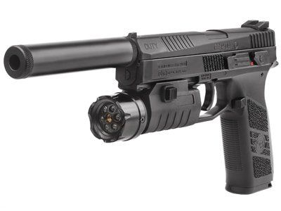 ASG CZ P-09 Duty CO2 Pistol Kit air pistol -  http://www.airrifleforsale.com/air-pistols/asg-cz-p-09-duty-co2-pistol-kit-air-pistol/ - ASG CZ P-09 Duty pistol Uses a 12-gram CO2 cartridge 16rd removable pellet and BB magazine (stick mag with 8rd rotary mag on each end and accepts either lead pellets or steel BBs) Blowback Rifled barrel Looks like the firearm Fixed sights (2 whited dots on rear sight, 1 white dot on front sight) Manual safety Weaver accessory rail Threaded muzz Find our…