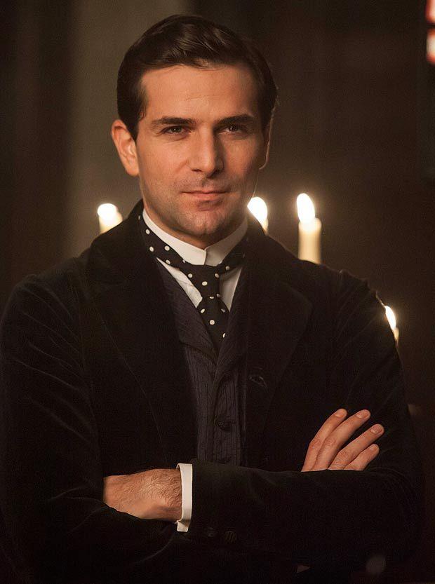 Gregory Fitoussi as Henri Leclair in Mr Selfridge MMMMMMmmmmm