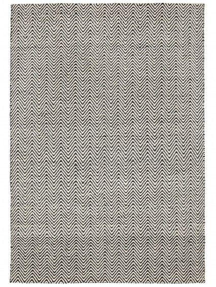 Teppich Matrix Ives Schwarz/Weiß #benuta #teppich #interior