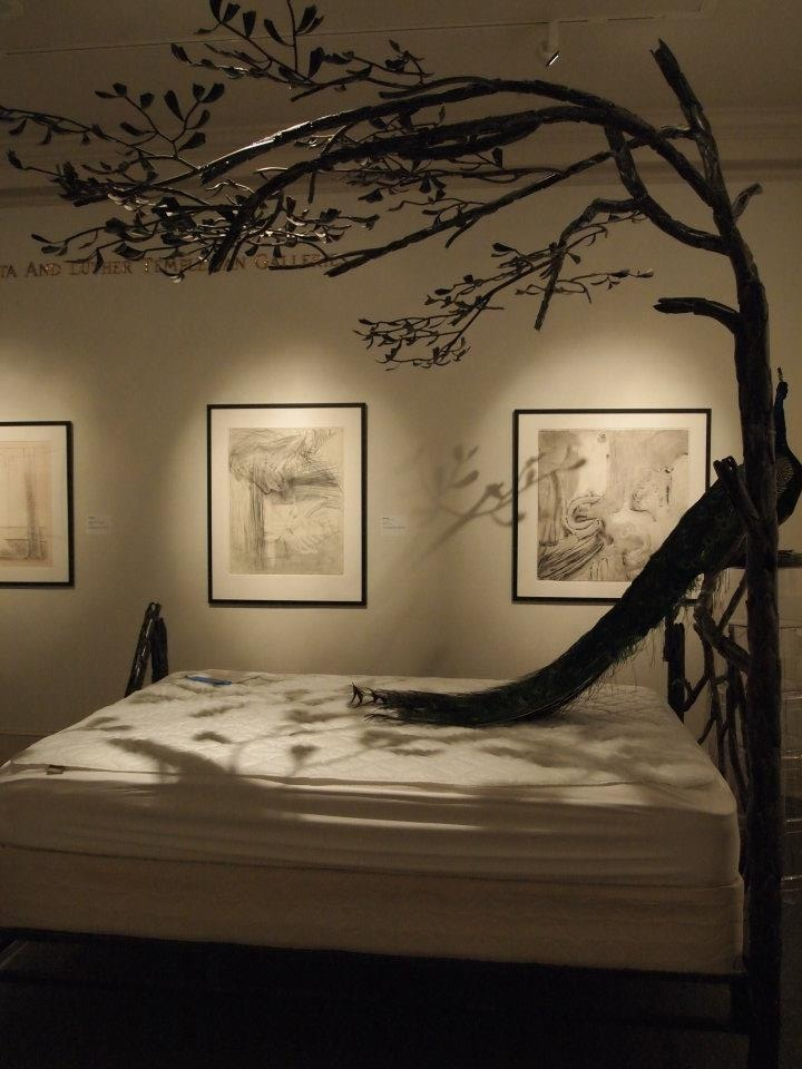 Tree Canopy Bed - NOLA Museum of Art; Art in Bloom
