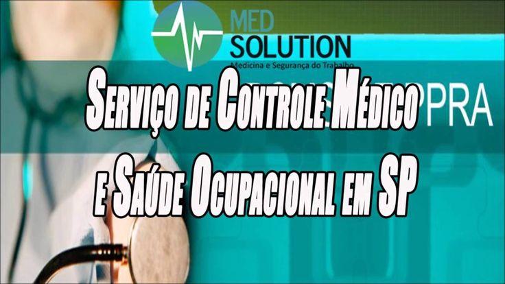 Serviço de Controle Médico e Saúde Ocupacional em SP   Med Solutions