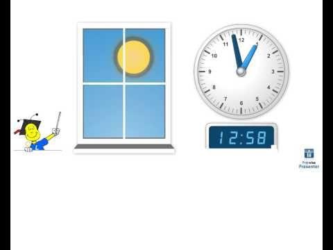 Klokkijken - introductie hele uren