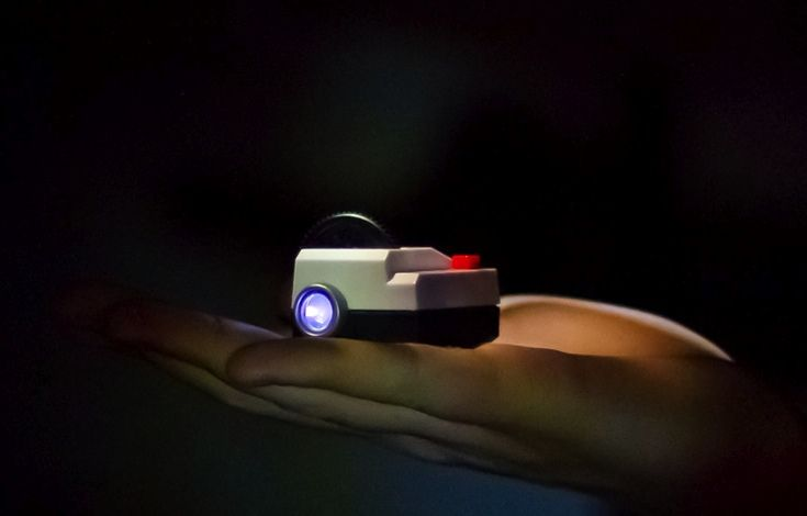 The tiny Instagram projector.   Your own miniature slideshow for only $34.98 with free worldwide shipping.