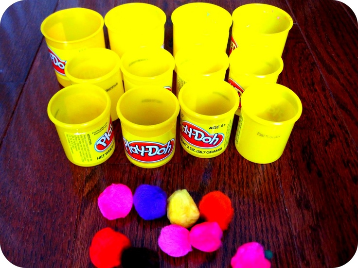 carnival games | Skills we worked on: hand-eye coordination, number skills (more/less ...