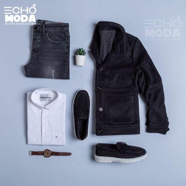 25 طقم ملابس رجاليه كاجوال منسق شتاء 2021 Men Casual Outfit Sets Clothes