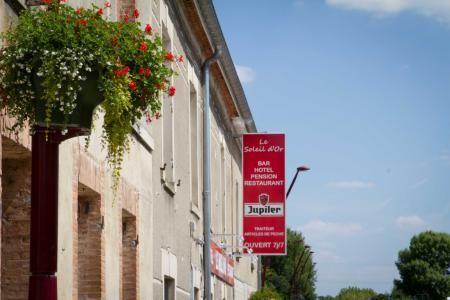 un lieu au coeur du village alliant hôtel, bar, restaurant et pensions en Champange-Ardenne entre Épernay, Reims et Châlons-en-Champange