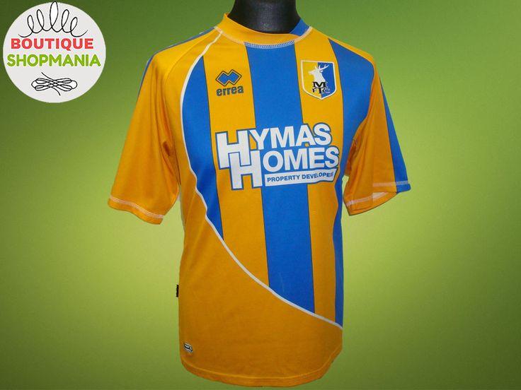MANSFIELD TOWN HOME 2010-2011 (L) ERREA Football Shirt Jersey Maglia Camisa  #ERRREA #MansfieldTown