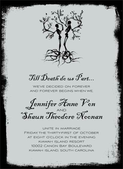 20 best Dia de los Muertos Wedding Invitations images on Pinterest ...