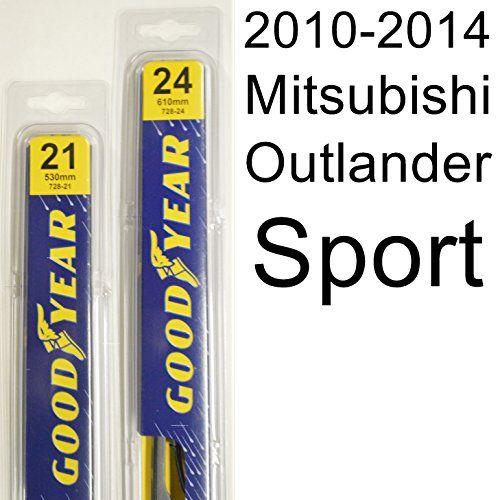Mitsubishi Outlander Sport (2010-2014) Wiper Blade Kit - ...