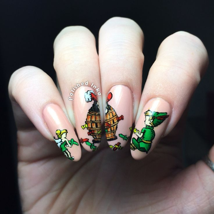 Peter Pan Nails: 1000+ Ideas About Pirate Nail Art On Pinterest