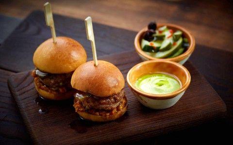 22 Ships - Hong Kong -  Char Grilled Iberico Pork Foie Gras Mini Burgers - #restaurant #HongKong #JasonAtherton