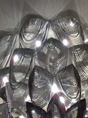 The Marmara Hotel. A Ceiling mounted version of the 'Protea' Chandelier, 1m Wide. In smoke chain. #willowlamp #bespokelighting #chandelier #interior #lighting #interiors #inspiredinteriors #lightingdesign #customlighting #chandelier #interiordesign #interiordecor #interiorstyle #interiorlovers #interior4all #interior4u #interiordecorating #interiorstylings #interiorarchitecture #interiores #interiorandhome #interiorforinspo #deco #homedesign #homestyle