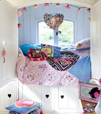 This would have been perfect for me as a child since I preferred sleeping in my closet.