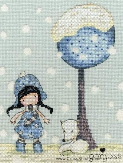 Gorjuss - Fox Gloves - Cross Stitch Kit from Bothy Threads