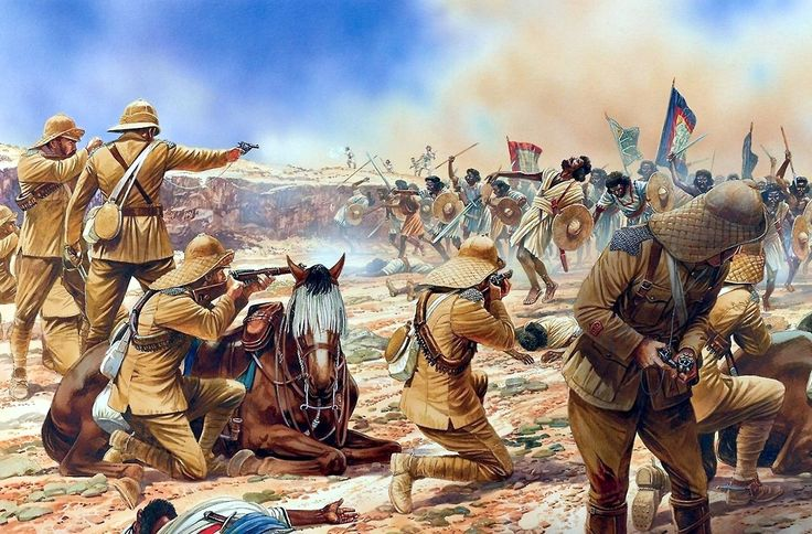 1898 Bof Batalla de Omdurmán, Sudan
