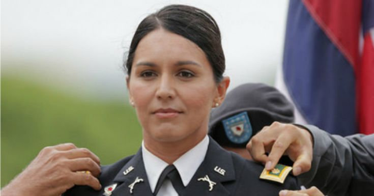 Standing for Peace Puts a Target on Tulsi