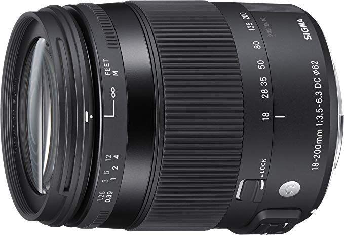Sigma 18 200mm F3 5 6 3 Contemporary Dc Macro Os Hsm Lens For Nikon Nikon Lens Canon Lens Digital Camera Lens