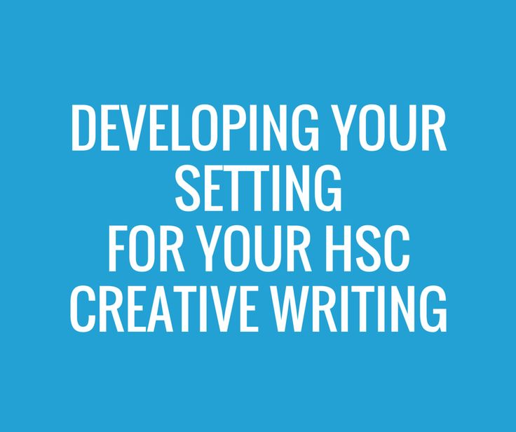 hsc creative writing examples belonging