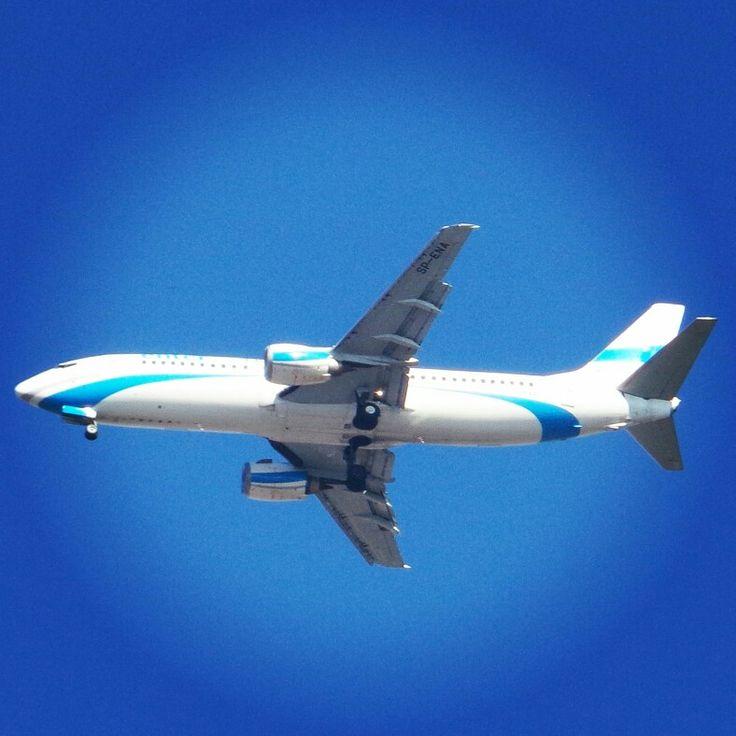 #enterair #approach #EPWR ⭐ #aviation #lotnictwo #avporn #charter #boeing #737 #benek #samolot #plane #spotting