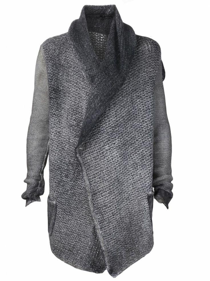 AVANT TOI - Open Knit Shawl Cardigan