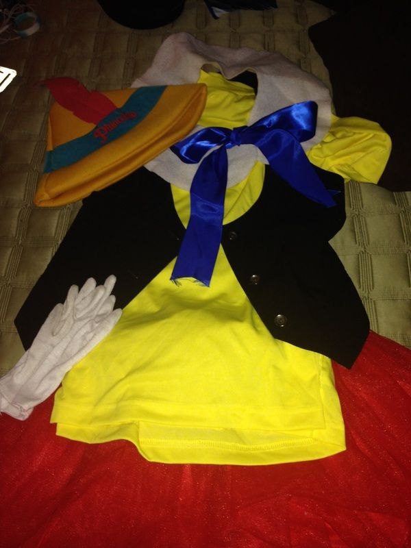 How to a Pinocchio running costume #rundisney