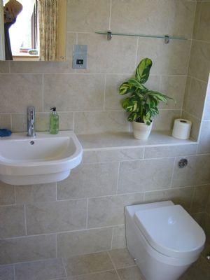 Tiled Concealed Cistern Sink Unit Wooden Top Google